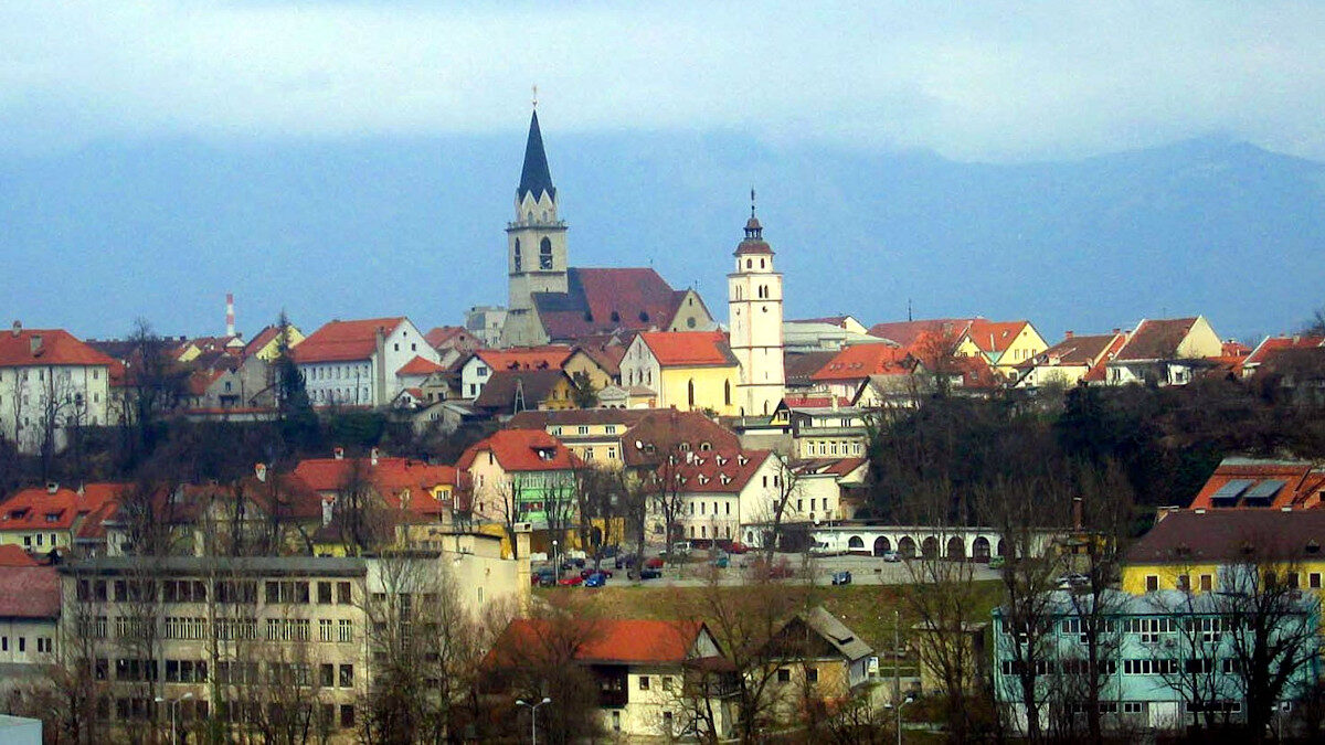 Η πόλη Κράν στη Σλοβενίας (Kranj - Slovenia)