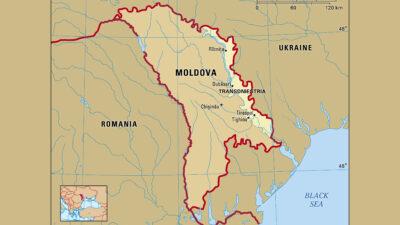 Χάρτης Μολδαβίας