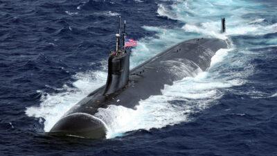 Το USS_Connecticut πυρηνικό Υποβρύχιο των ΗΠΑ κλάσης SEAWOLF (SSN 22)