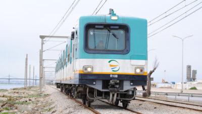 Ηλεκτρική αμαξοστοιχία των Τυνησιακών Σιδηροδρόμων (TGM)