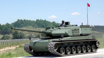 Πρωτότυπο Άρμα Μάχης της Τουρκικής Βιομηχανίας ALTAY