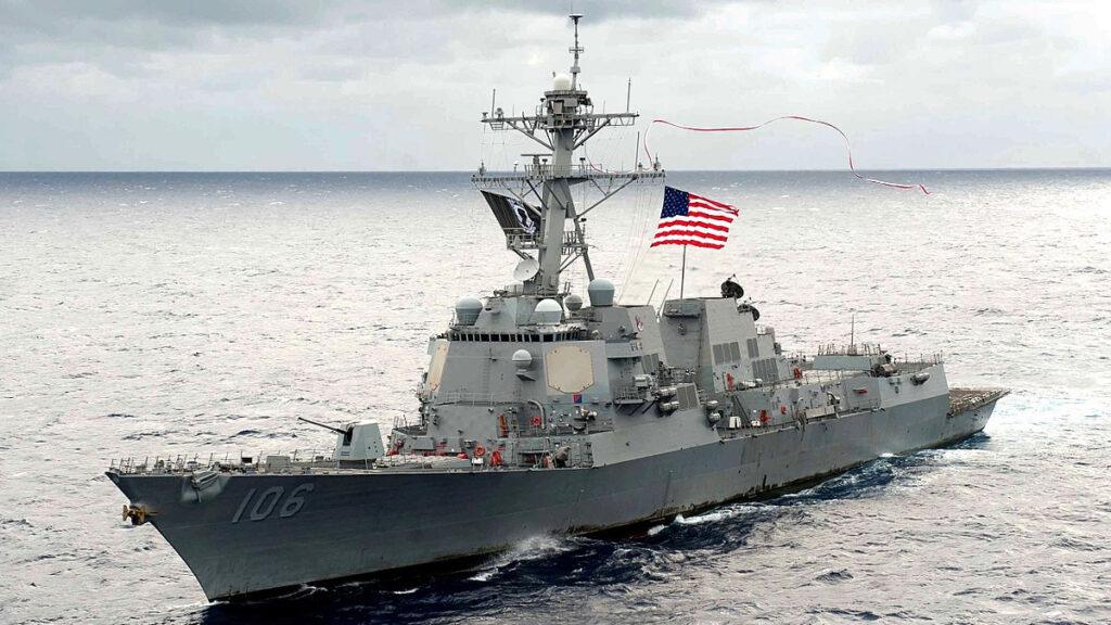 Αντιτορπιλικό (κλάσης Arleigh Burke) USS Stockdale (DDG 106) των ΗΠΑ