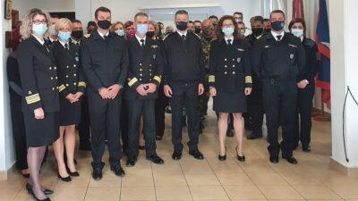 Επίσκεψη του Αρχηγού ΛΣ-ΕΛ.ΑΚΤ Αντιναύαρχου ΛΣ Κλιάρη Θεόδωρου στο Κεντρικό Λιμεναρχείο Βόλου όπου παρευρέθησαν και οι υπηρετούντες στη 4η ΠΕΔΙΛΣ