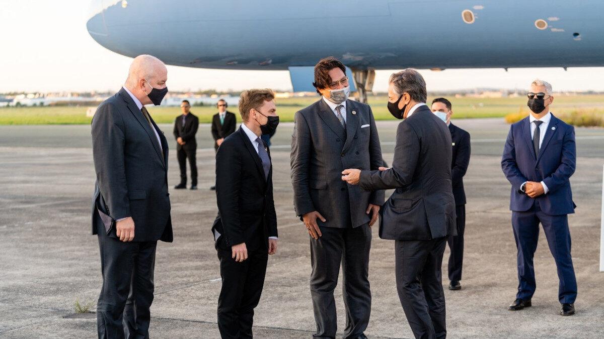 Επίσκεψη του Αμερικανού ΥπΕξ, Άντονι Μπλίνκεν στο Παρίσι