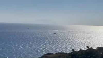 Επιχείρηση έρευνας και διάσωσης στα ανοιχτά της Χίου όταν σκάφος με 27 μετανάστες βυθίστηκε