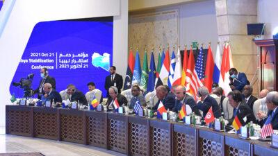 Συμμετοχή του Ν. Δένδια στη διάσκεψη για την σταθερότητα στη Λιβύη, Πέμπτη 21-10-21