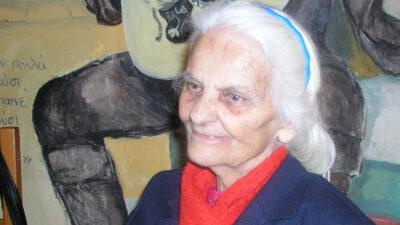 Μαχήτρια του Δημοκρατικού Στρατού Ελλάδας (ΔΣΕ), Ελευθερία Κοτούπα από την Ομορφοκκλησιά Καστοριάς, πολιτικός πρόσφυγας στην Τσεχοσλοβακία