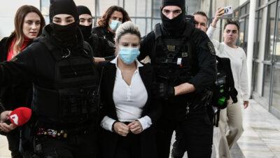 Έφη Κακαραντζούλα, κατηγορούμενη για την επίθεση με βιτριόλι - Μεικτό Ορκωτό Δικαστήριο / Οκτώβρης 2021