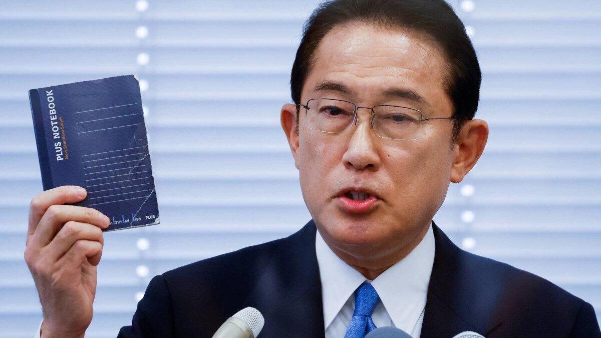 Ο Φούμιο Κουσίντα, Πρωθυπουργός της Ιαπωνίας / Νομικός μέλος του «Φιλελευθερου» Κόμματος (Liberal Democratic Party - LDP (Fumio Kishida)
