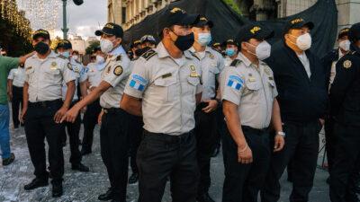 Αστυνομικοί στη Γουατεμάλα - Κεντρική Αμερική
