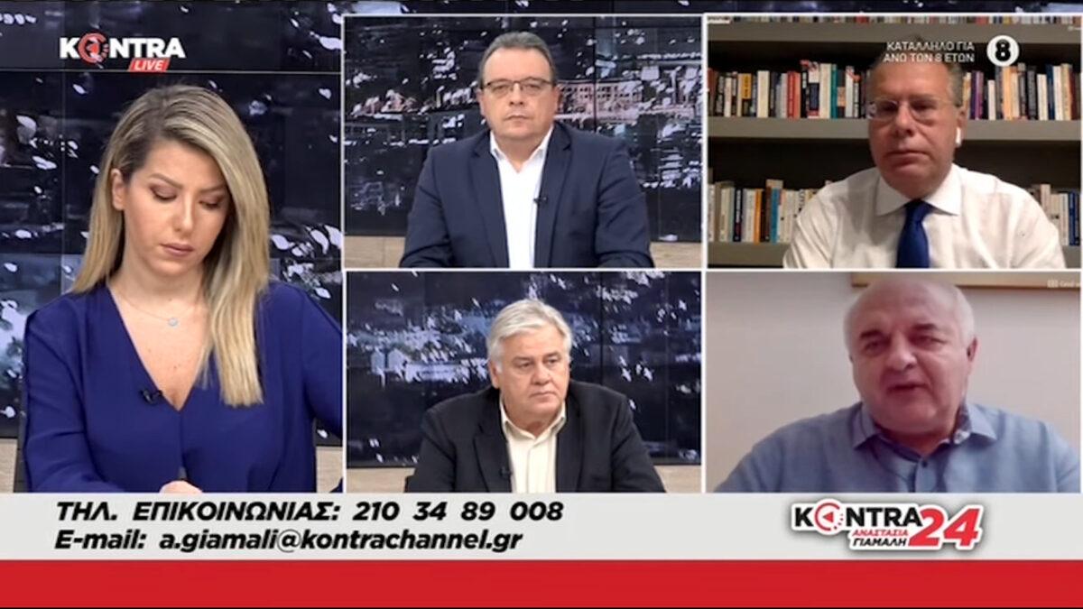 Ο Νίκος Καραθανασόπουλος, μέλος της ΚΕ και βουλευτής του ΚΚΕ