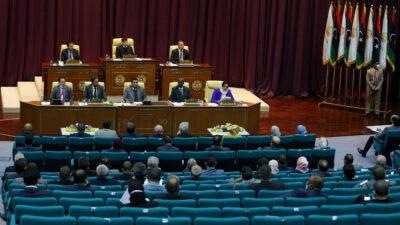 Το κοινοβούλιο της Λιβύης στη Βεγγάζη