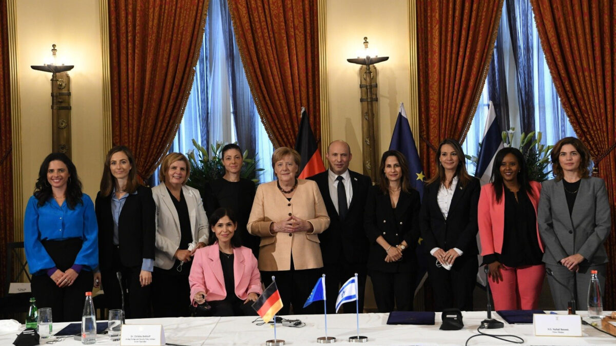 Συνάντηση της Α. Μέρκελ τον Πρωθυπουργό του Ισραήλ, Ν. Μπένετ