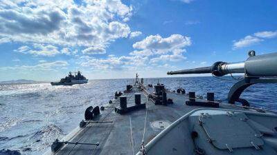 Την Τετάρτη 20 Οκτωβρίου 2021 διεξήχθη συνεκπαίδευση PASSEX (Passing Exercise) της Φρεγάτας ΕΛΛΗ με την Γερμανική Φρεγάτα FGS SCHLESWING HOLSTEIN, στην θαλάσσια περιοχή των Κυκλάδων και του Μυρτώου Πελάγους.