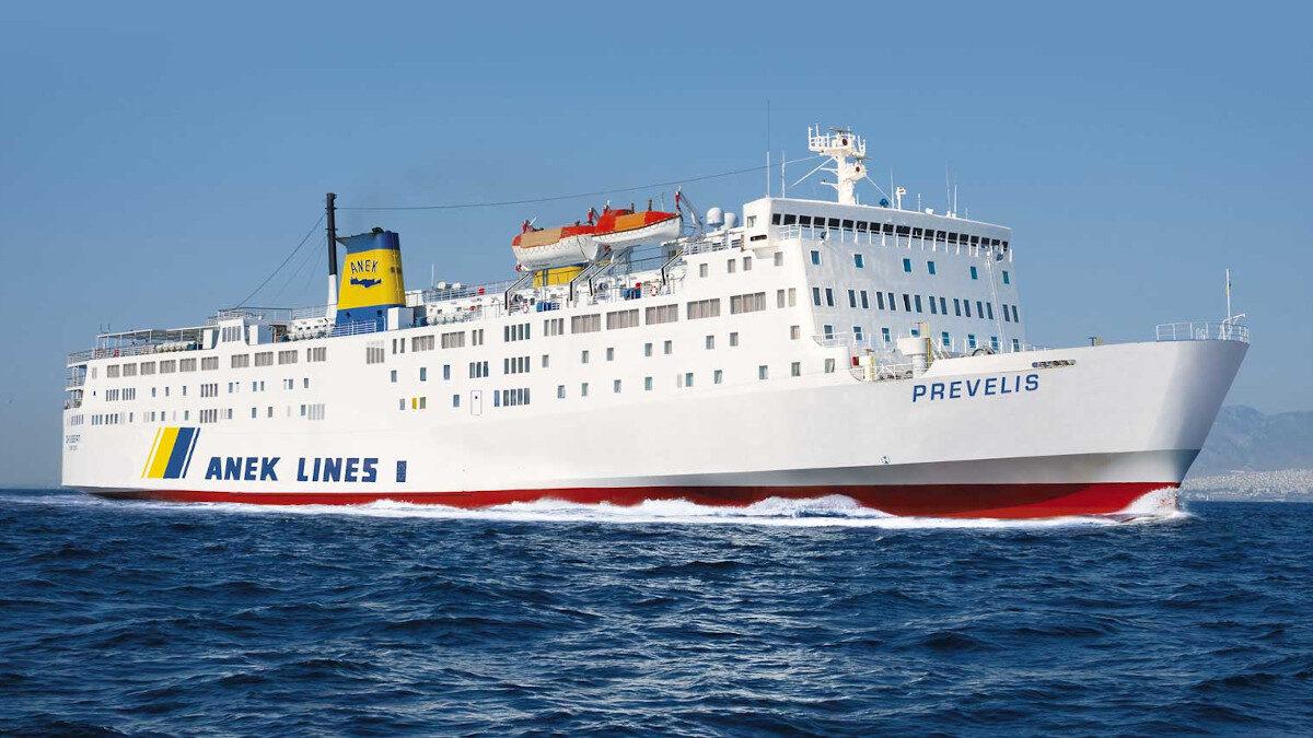 """Το επιβατηγό οχηματαγωγό πλοίο """"Πρέβελης"""""""