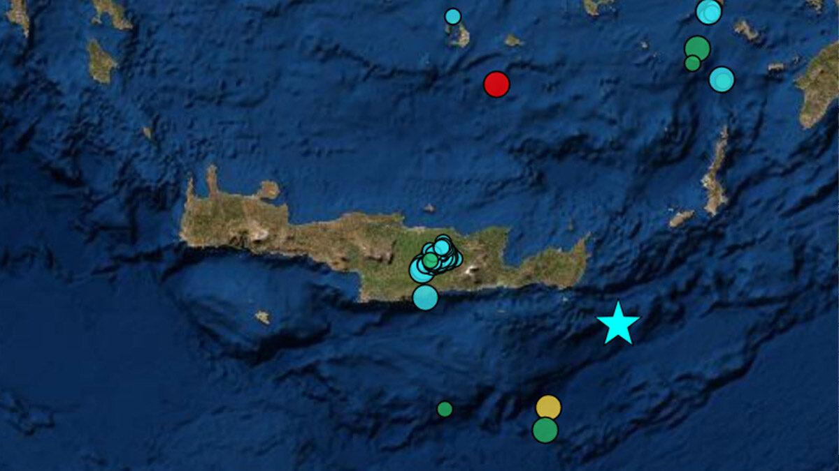 Σεισμός στην Κρήτη, 12 Οκτωβρίου 2021