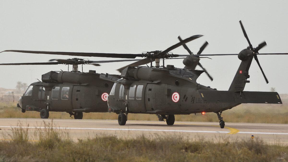 Ελικόπτερο MH-60, BlackHawk της Αεροπορίας Στρατού της Τυνησίας